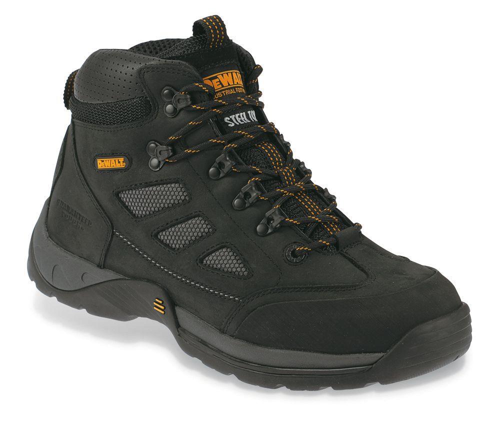 DeWalt Velocity Safety Trainer Boots Black Size 7 + Free Bag