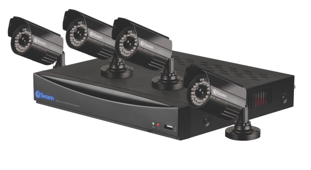 Swann DVR8-1260 8 Channel D1 Digital Video Recorder and 4 x PRO-535 Camera