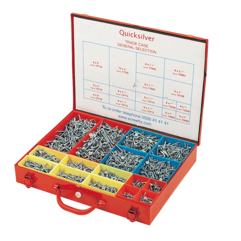 Quicksilver General Trade Case 3400 Pieces