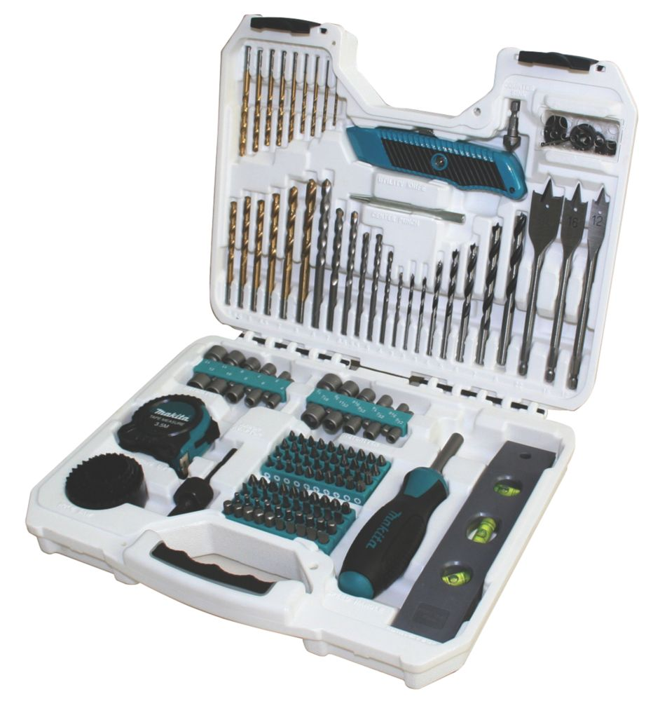 Makita Pro Drill Accessory Set 150Pcs