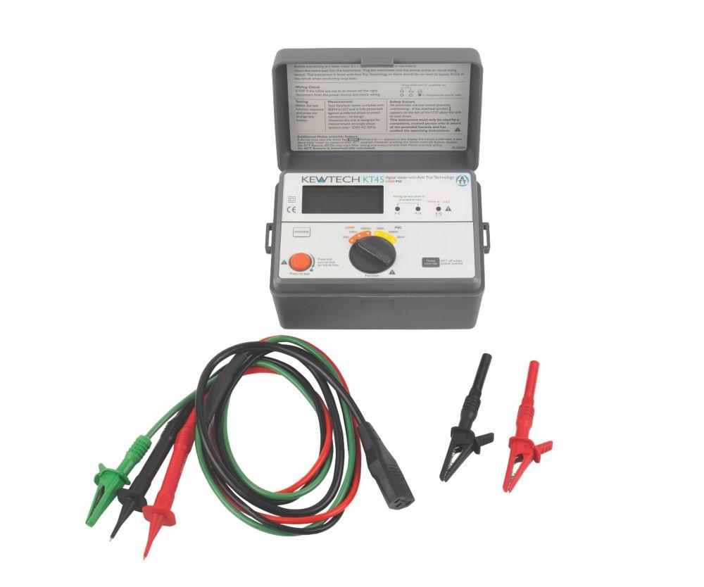 Kewtech KT45 Digital Loop / PSC Tester