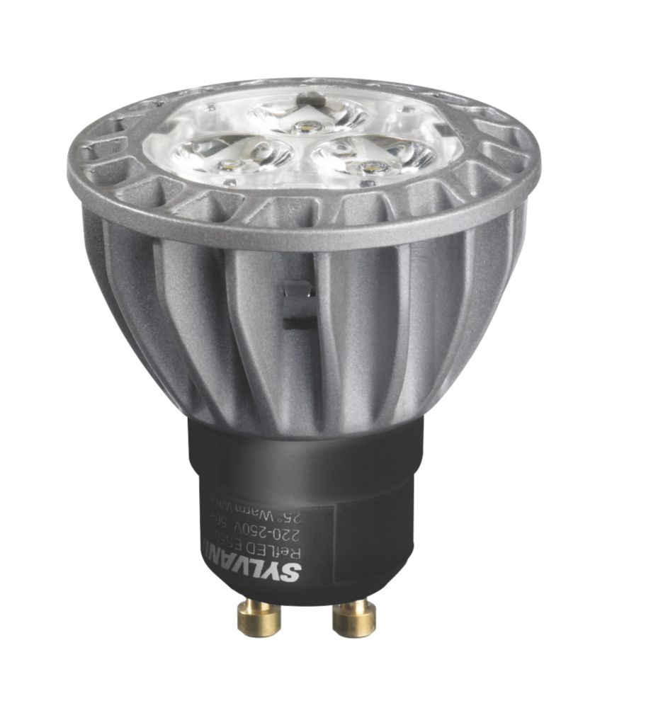 Sylvania Hi-Spot RefLED ES50 GU10 Mains Voltage LED Lamp 5.5W