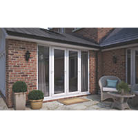 ATT  uPVC French Doors & Sidelights White 2690 x 2090mm