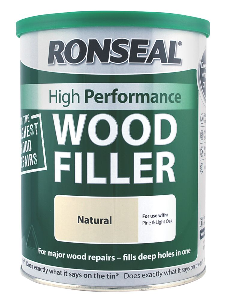 Ronseal High Performance Wood Filler 1kg