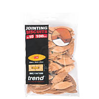 Trend No. 10 Jointing Biscuits Pack of 100 100 Pack
