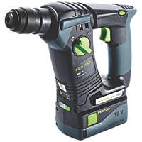 Festool BHC 18 Li 5,2 GB 2.6kg 18V 5.2Ah Li-Ion SDS Plus Hammer Drill