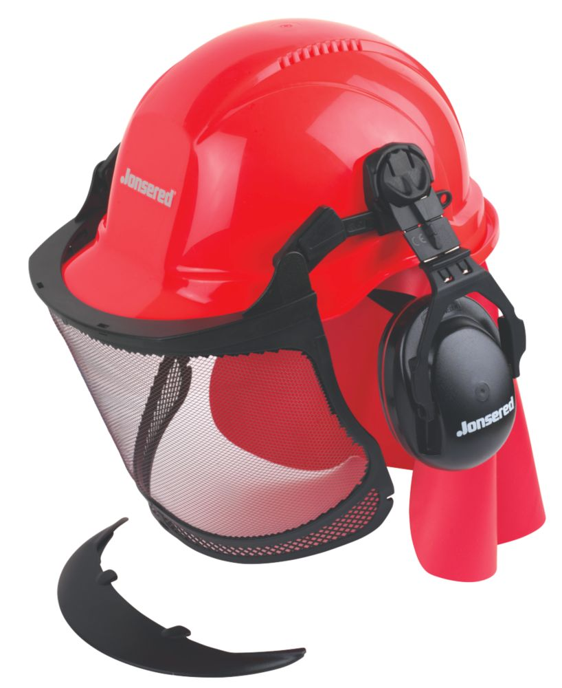 Jonsered Forestry Helmet with Maximum Sight Visor