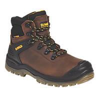 DeWalt Newark Safety Boots Brown Size 7
