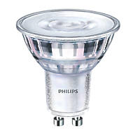 Philips GU10 LED Glass Reflector Lamp 240lm 650Cd 4.4W