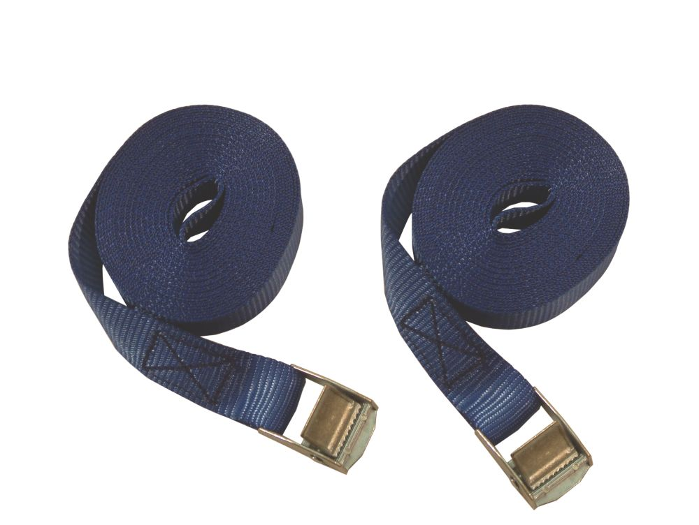 Thorsen Cambuckle Strap Set 2.5m x 25mm 2 Pieces