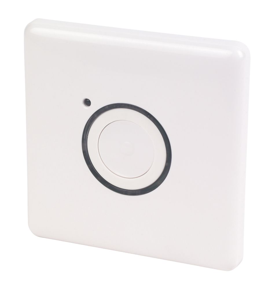 3 Wire Master Push Button White