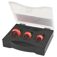 Armeg Acceler Sheet Steel Holesaw Set 3 Piece Set