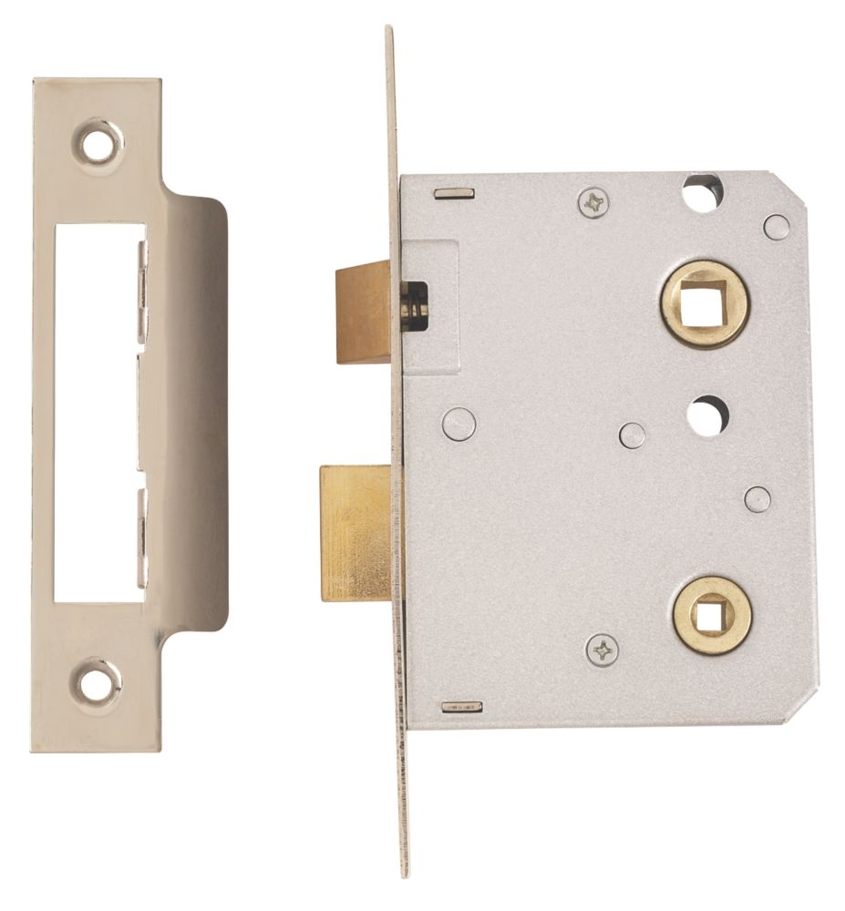 "ERA Bathroom Mortice Lock Satin Chrome 3"" (76mm)"