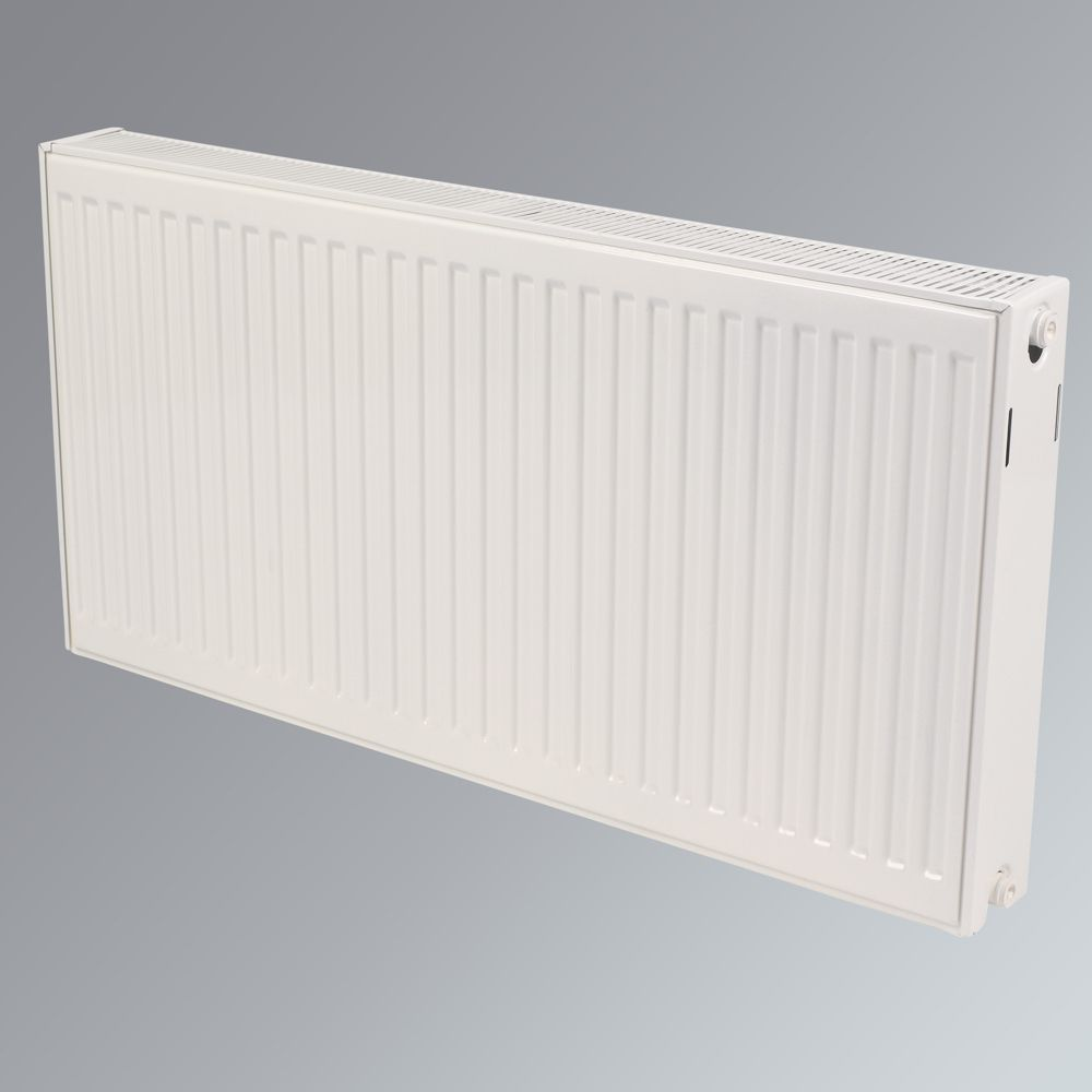 Kudox Double Convector Radiator White H: 600 x W: 2400mm