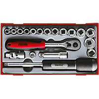 "Teng Tools 3/8"" Socket Set 19 Pieces"