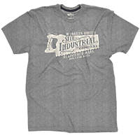 "Site Industrial T-Shirt Grey Medium 40"" Chest"