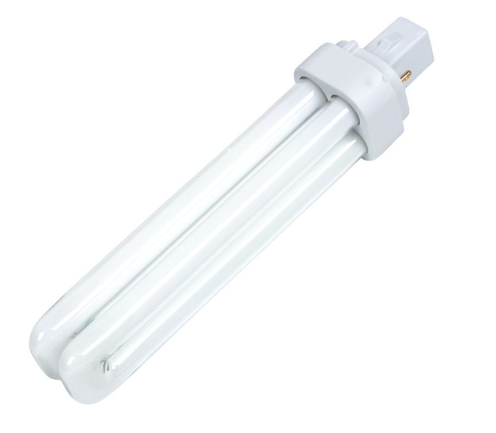 Sylvania Lynx D Compact Fluorescent Lamp Cool White G24D 2-Pin 1800Lm 26W
