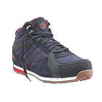 Site Strata High-Top Safety Trainer Boots Navy Size 11