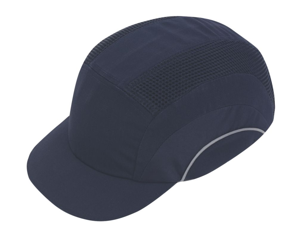 JSP Hardcap Short Peak Bump Cap Navy