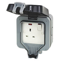 BG 13A 1G Switch Socket
