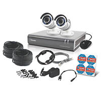 Swann SWDVK-445502-UK 4-Channel Security System & 2 Cameras 3 Pieces