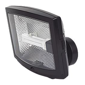 Spot Light 42W Black Photocell Floodlight