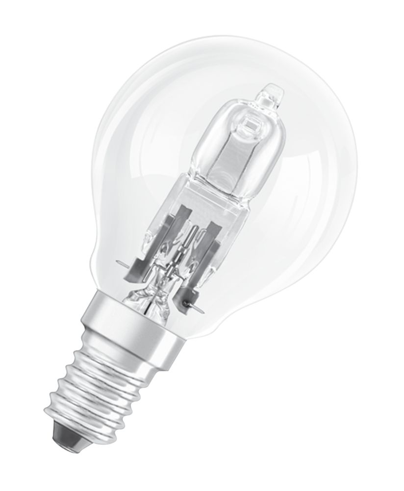 Osram Classic ECO Superstar Ball Halogen Lamp SES 700Lm 46W