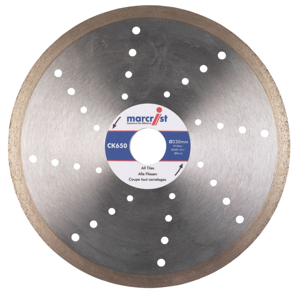 Marcrist CK650 Tile Cutting Diamond Blade 150 x 25.4mm