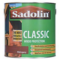 Sadolin Classic Woodstain Matt / Semi Matt Mahogany 2.5Ltr