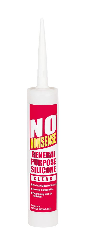 No Nonsense GP Silicone Clear 310ml