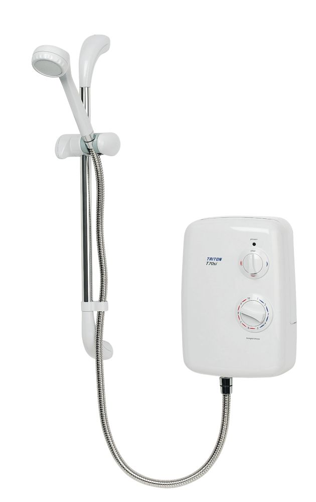 Triton T70si Electric Shower White 8.5kW