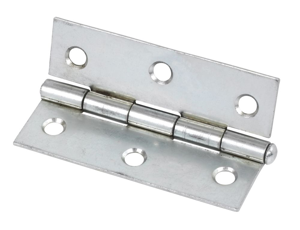 Steel Loose Pin Hinges Zinc Plated 76 x 29mm Pack of 20