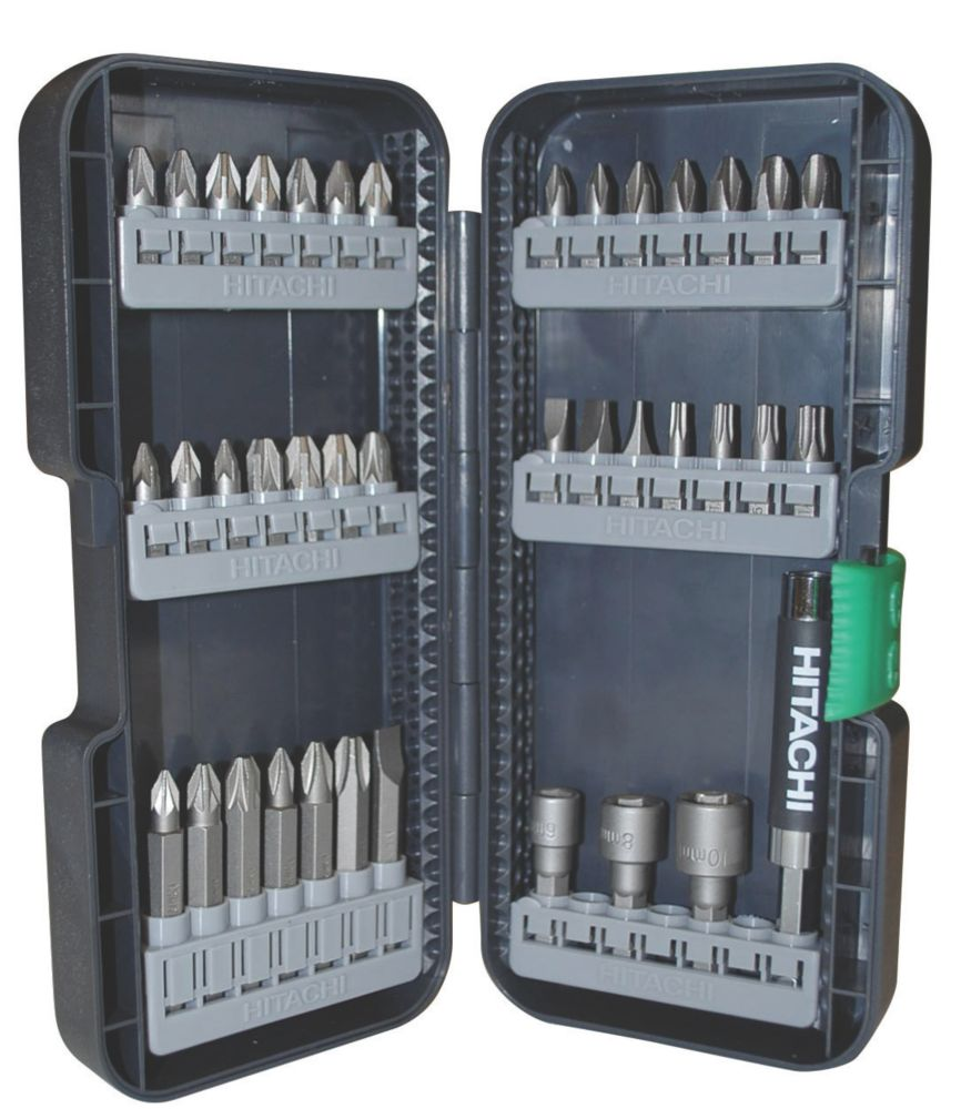 Hitachi Professional Screwdriver Bit Set 39Pcs