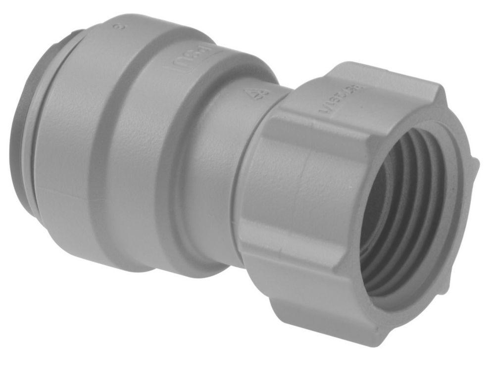 """JG Speedfit PSE3201DGP Female Tap Connector Grey 15mm x ½"""""""