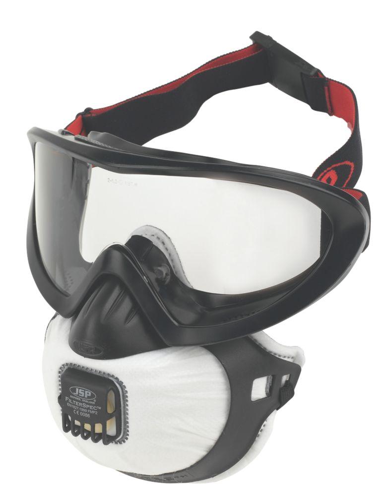 FilterSpec Pro P2 Valve Black Respirator