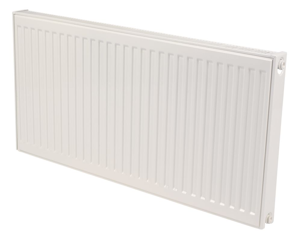 Kudox Premium Type 11 Single Panel Single Convector Radiator White 600x1000