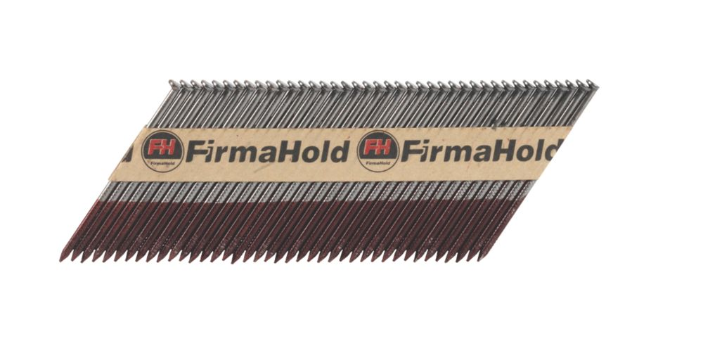FirmaHold Bright Straight Framing Nails 3.1 x 90mm Pack of 2200