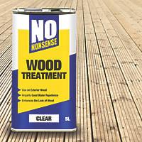 No Nonsense Wood Treatment Clear 5Ltr