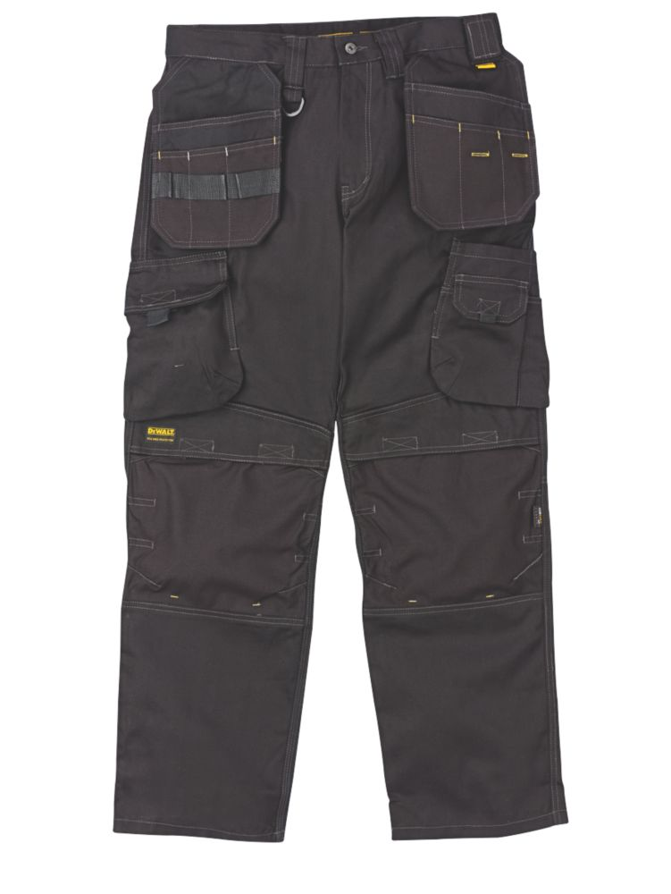 "DeWalt DeWalt Pro Canvas Heavyweight Work Trousers 32"" W 31"" L"