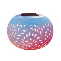 Cole & Bright Filigree Colour-Changing LED Table Light White