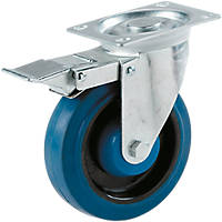 Select Heavy Duty Braked Swivel Castor 125mm
