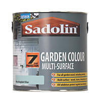 Sadolin Garden Colour 7-Year Woodstain Mockingbird Blue 2.5Ltr