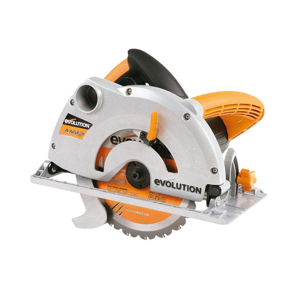 Evolution RAGE 1B 185mm Multipurpose Circular Saw 110V