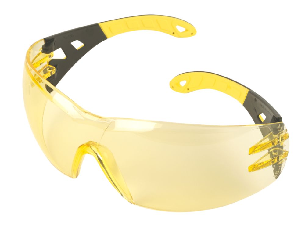 Uvex Pheos Amber Lens Sports Safety Specs