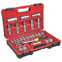 "Stanley FatMax ½"" Socket Set 25 Pieces"