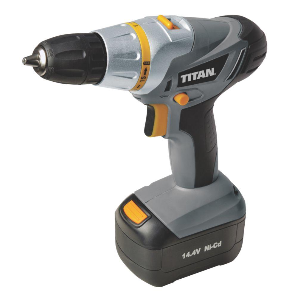 Titan TTD272DDH 14.4V 1.5Ah Ni-Cd Cordless Drill Driver