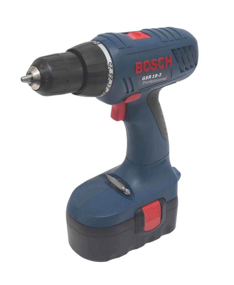 Bosch GSR 18-2 18V 1.5Ah Ni-Cd Cordless Drill Driver