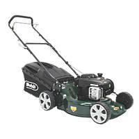 Webb WER18HP 46cm  125cc Push Rotary 3-in-1 Petrol Lawn Mower