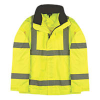 "Site Hi-Vis Lightweight Bomber Jacket Hi-Vis Yellow Large 43"" Chest"