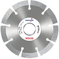 Marcrist WS650 Diamond Wall Chasing Blades 150 x 22.23mm 2 Pack